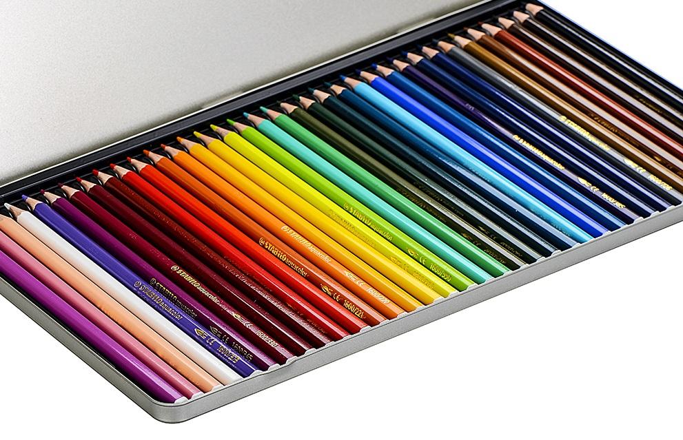 Các Loại Bút Chì Màu Nước Phổ Biến Nhất Trên Thị Trường