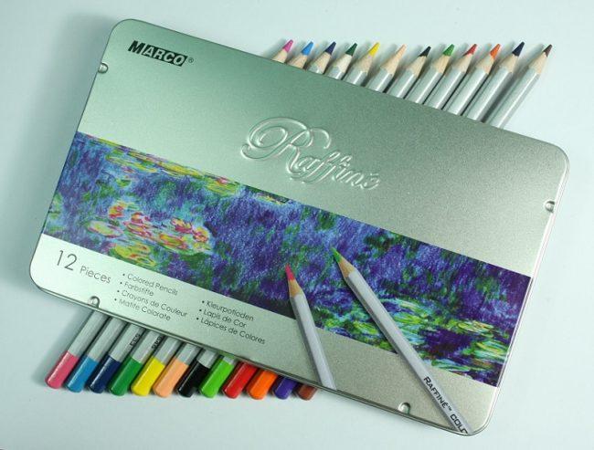 Tìm Hiểu Kĩ Năng Vẽ Với Bút Chì Màu Marco Raffine Paint Corner