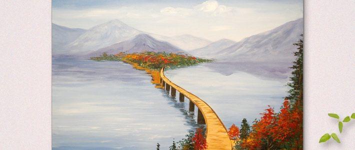 Hướng dẫn vẽ tranh canvas cho người lớn cơ bản