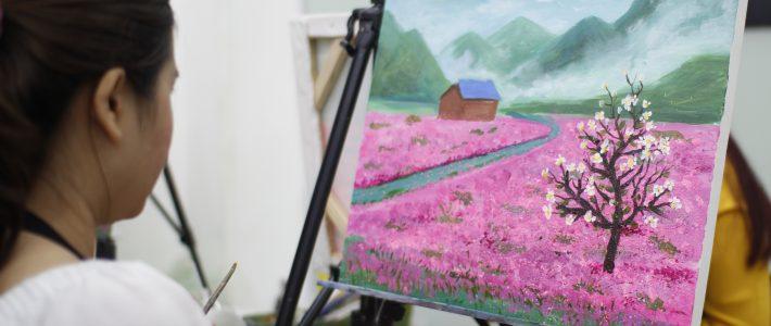 Nếu bạn băn khoăn về các lớp học vẽ tại hà nội? Hãy đến với Paint Corner