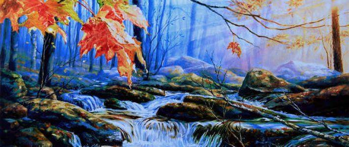 Chỉ cách vẽ tranh phong cảnh thiên nhiên
