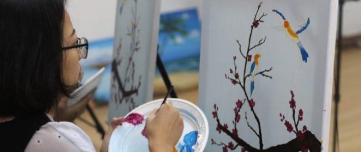 Hướng dẫn đăng ký vẽ tranh thư giãn tại Paint Corner