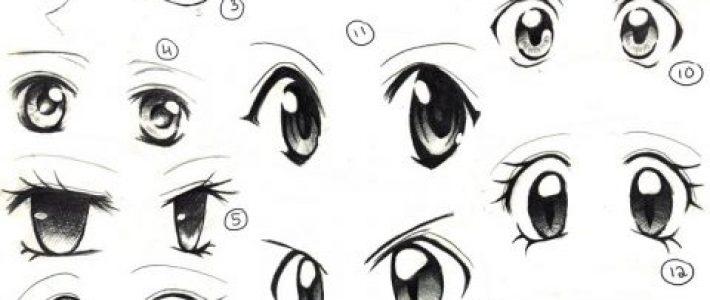 Hướng dẫn cách vẽ mắt trong truyện tranh cho người mới bắt đầu