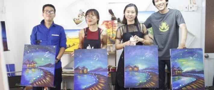 Tìm lớp học vẽ cho người lớn uy tín nhất