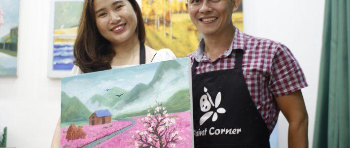Paint Corner tuyển giáo viên mỹ thuật tp hcm