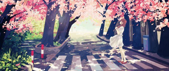 Vẽ tranh phong cảnh anime bằng photoshop