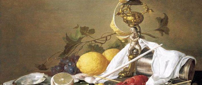 Các bài vẽ tĩnh vật đẹp hút hồn của họa sĩJan Davidsz. de Heem