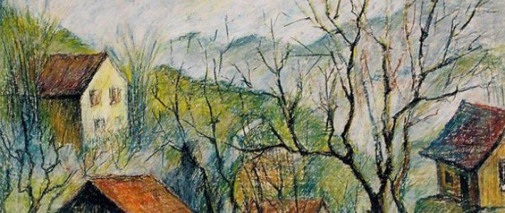 Cách vẽ tranh phong cảnh miền núi