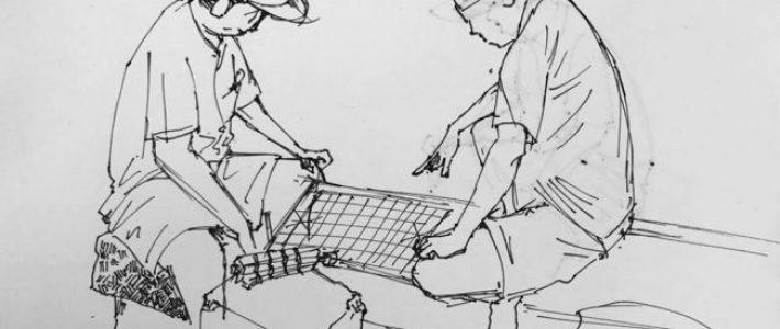 Cùng học cách vẽ kí họa dáng người