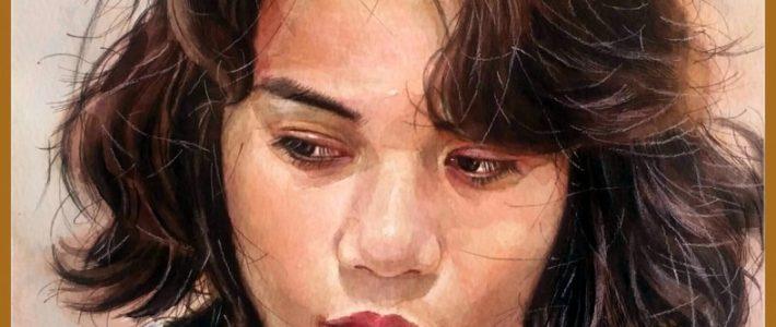 Paint Corner và tranh vẽ chân dung mẹ của em