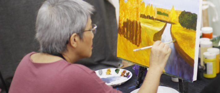 Địa điểm lớp học vẽ màu nước tại tphcm siêu chất lượng