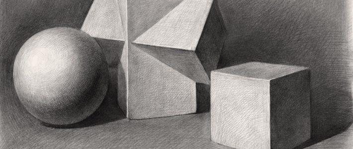 Hình học họa hình vẽ bóng – quy luật ánh sáng