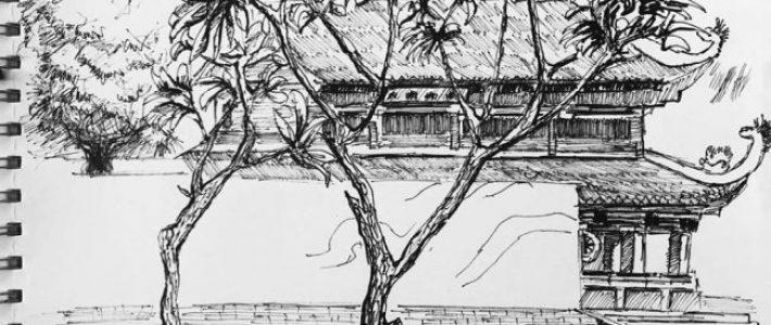 Học cách kí họa cây với Paint Corner