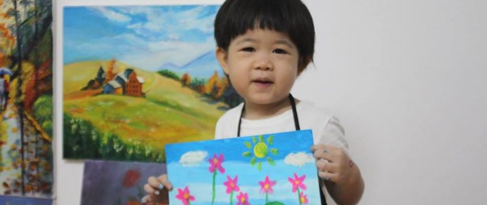 Học vẽ cho trẻ em và những lợi ích không tưởng