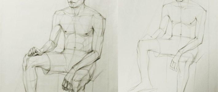Học vẽ người cơ bản ư? Quá chi là giản đơn