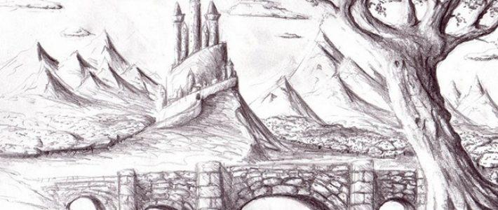 Học vẽ phong cảnh bằng chì cho người mới bắt đầu