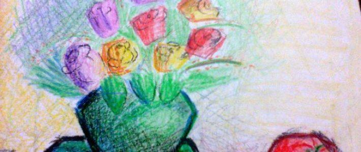 Học cách vẽ tĩnh vật lọ hoa và quả lớp 9