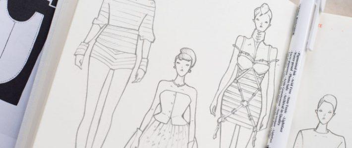 Hướng dẫn bạn cách vẽ người mẫu thời trang chuẩn không cần chỉnh
