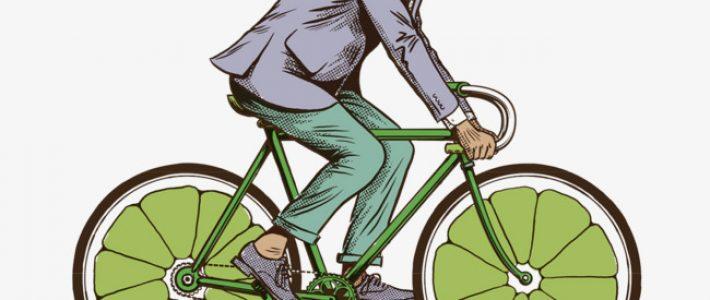 Hướng dẫn cách vẽ người đi xe đạp