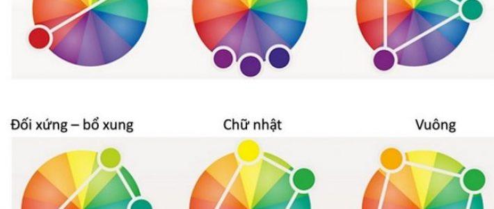 Kỹ thuật phối 3 màu cơ bản
