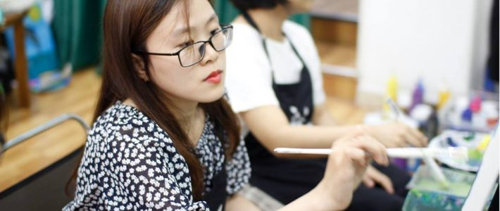 Lớp dạy vẽ cho trẻ em ở tphcm
