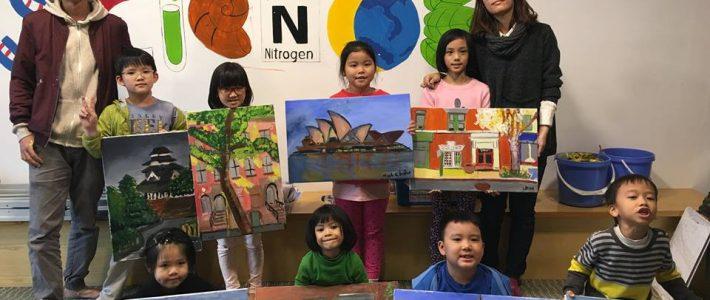 Paint Corner và lớp dạy vẽ ở tphcm