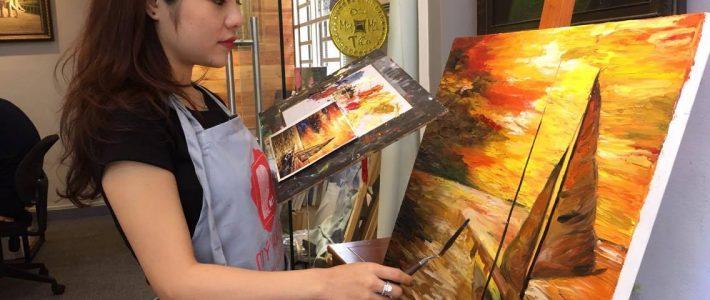 Lớp học vẽ cho người lớn hcm có gì đặc biệt ?