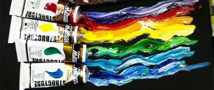Màu acrylic vẽ tường đẹp