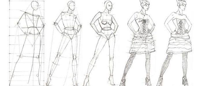 Những điều cần biết khi theo đuổi ngành học vẽ thiết kế thời trang