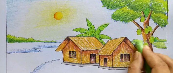 Những gì cần biết về vẽ tranh phong cảnh đơn giản lớp 7