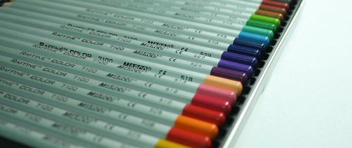 Những lợi ích từ việc học vẽ bằng màu chì marco