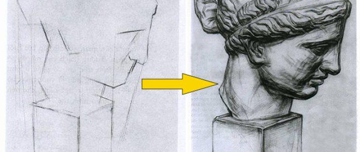 Những lưu ý về cách vẽ tượng thạch cao cho người mới học