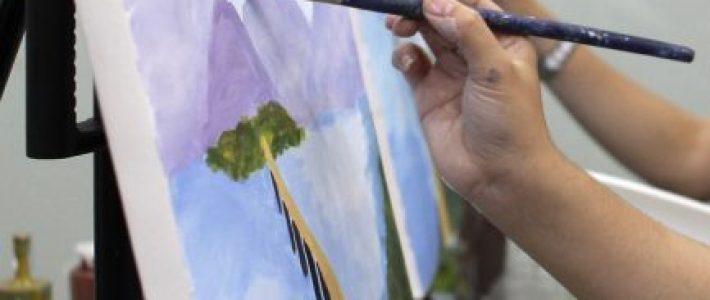 Paint Corner xin mạn phép được chỉ bạn cách vẽ tranh tự do