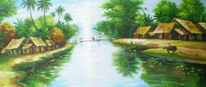Bạn đã biết cách vẽ tranh phong cảnh chưa?