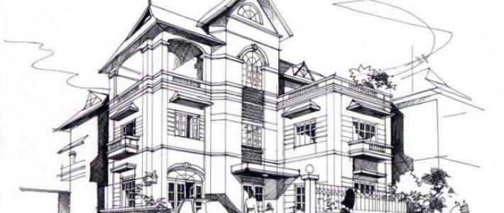 học vẽ kiến trúc cơ bản tại Paint Corner