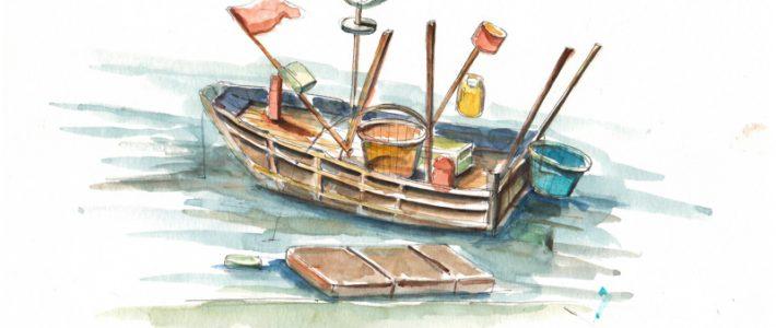 Những đầu sách học vẽ màu nước nên tham khảo