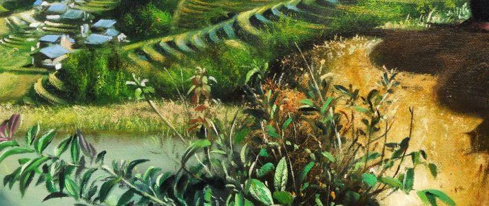 Các bước học vẽ tranh phong cảnh