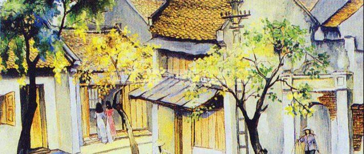 Dạy vẽ tranh phong cảnh thành phố cùng Paint Corner