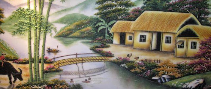 Tranh vẽ bút chì phong cảnh không hề khó