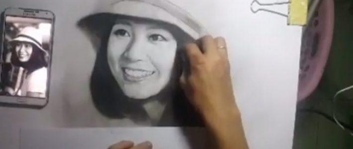 Trung tâm học vẽ chân dung online tại Hà Nội