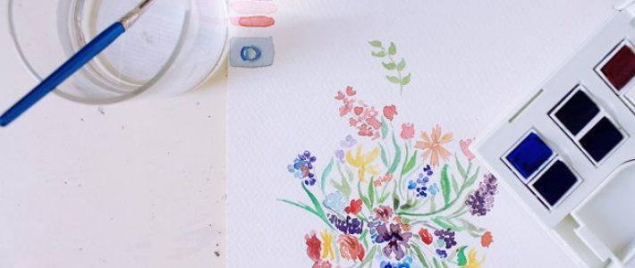 Vẽ màu nước trên giấy gì? Tìm hiểu về giấy vẽ màu nước
