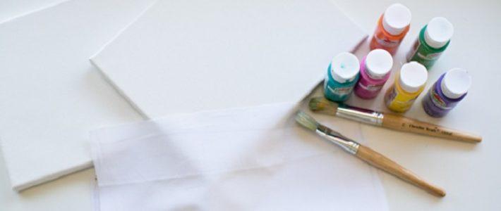 4 bước vẽ tranh canvas cực đơn giản cho người mới bắt đầu